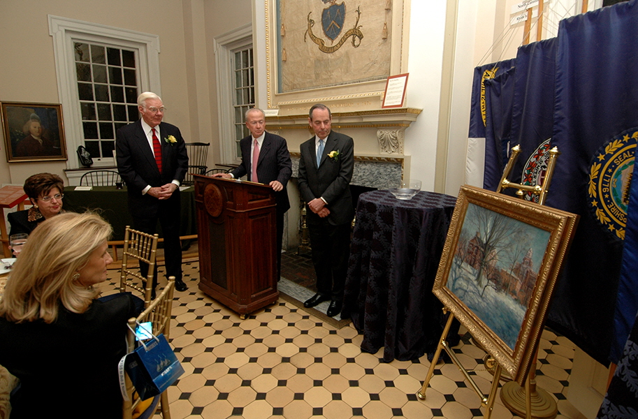Unveiling of Philadelphia landscapes, commissioned by Sunoco, Inc.