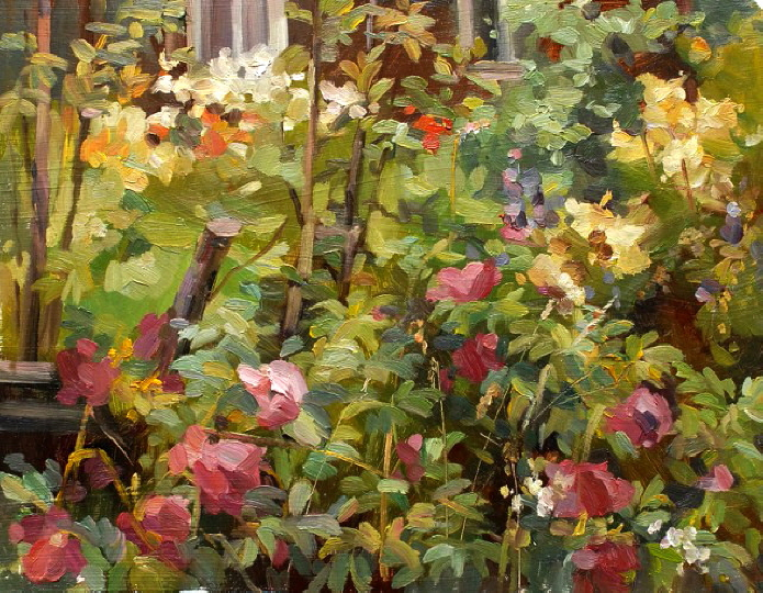 Wild Roses. 2007 SOLD