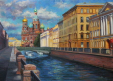 A Stroll Along Griboyedov Canal . 2011