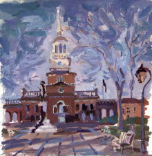 Independence Hall. 2002