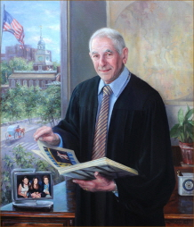 Judge Michael Baylson. 2016