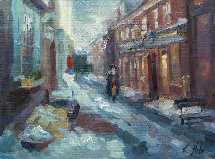 Elfreth's Alley. 2005 SOLD